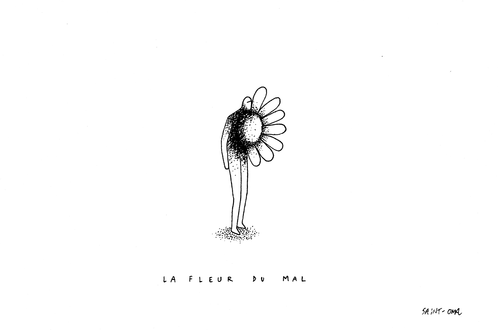 La fleur du mal ORIGINAUX copie