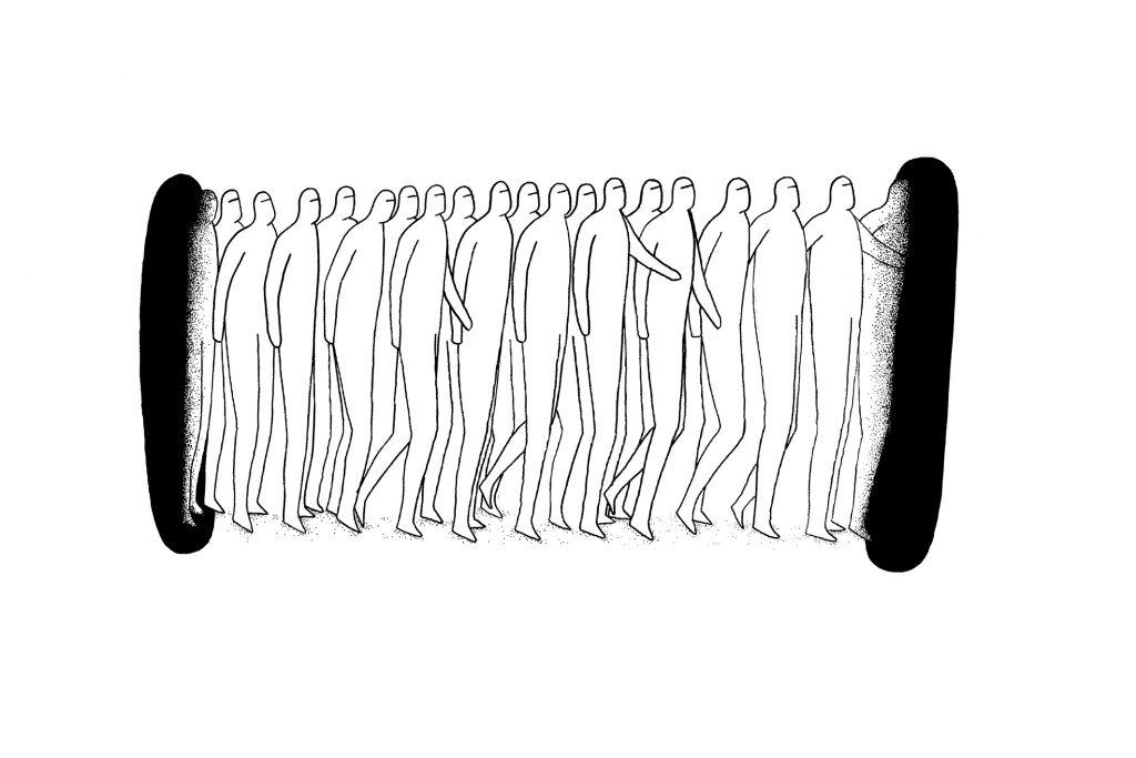 Sans titre (le passage) 75x50