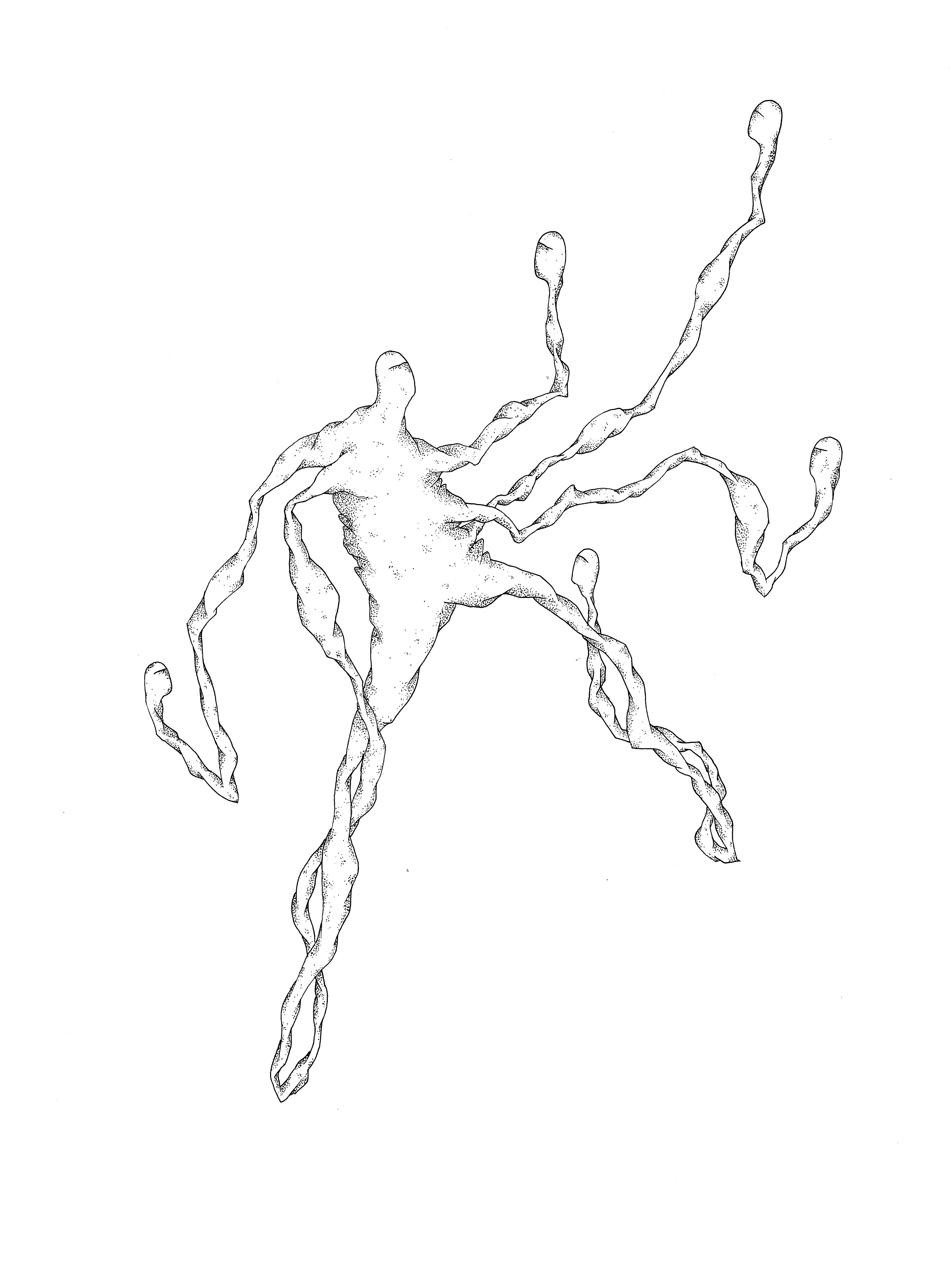Sans titre (mutant 6 têtes) ORIGINAUX copie