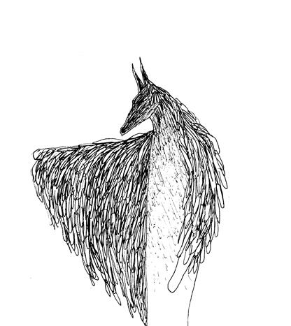 loup homme oiseau br