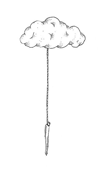 sous un nuage copie